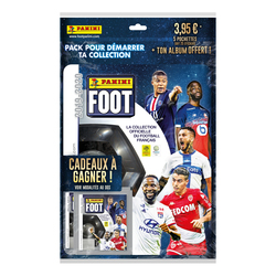 Stickers Panini Foot 2019-2020 avec album