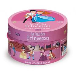 Puzzle et livre le bal des princesses