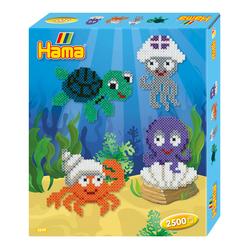 Perles à repasser - Animaux de la mer