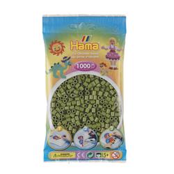 Perles Hama - 1000 perles vert olive