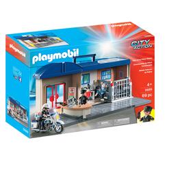 5689 - Playmobil City Action - Le Commissariat de Police Transportable