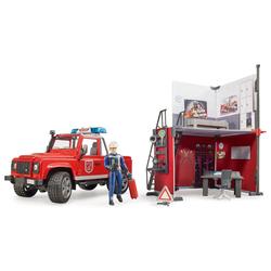 Caserne de pompier Land Rover véhicule de secours