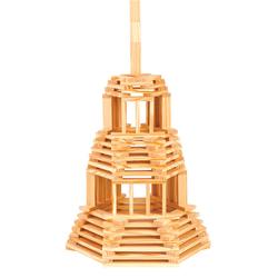 Técap 3XL - Baril de 120 pièces planchettes en bois