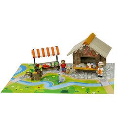 La place du marché en bois 80 pièces