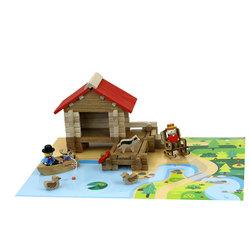 La cabane de pêche en bois 90 pièces