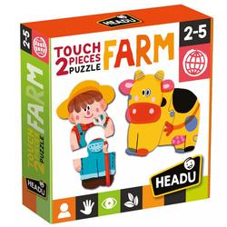 Puzzles 2 pièces Touch Farm