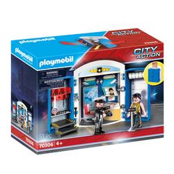 70306 - Playmobil City Action - Coffre Commissariat de police