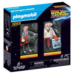 70459 - Playmobil Retour vers le futur - Marty et Dr. Brown