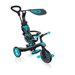 Tricycle Trike Explorer 4 en 1 bleu