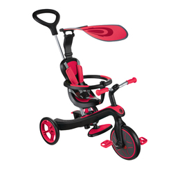 Tricycle explorer 4 en 1 rouge