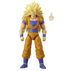 Figurine Super Saiyan 3 Goku Dragon Ball