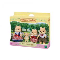 Sylvanian Families - 5459 - La famille chien caramel