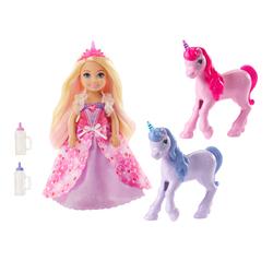 Princesse Chelsea et ses licornes - Barbie Dreamtopia