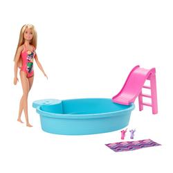Poupée Barbie et sa piscine