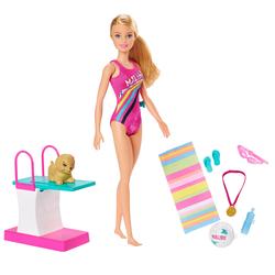 Poupée Barbie natation