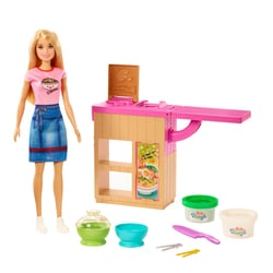Coffret poupée Barbie atelier de pâtes
