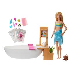 Coffret poupée Barbie bain coloré