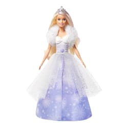 Poupée Barbie Princesse flocons