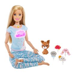 Poupée Barbie méditation