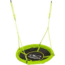Balançoire de nid Swing verte diamètre 110 cm