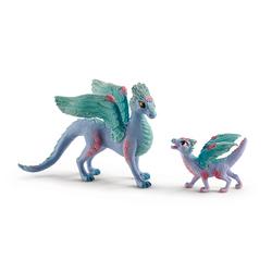 Dragons aux fleurs