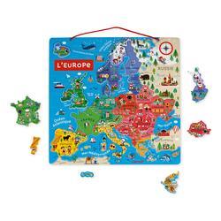 Puzzle Magnétique carte de l'Europe