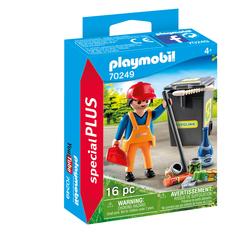 70249 - Playmobil Spécial Plus - Agent d'entretien de la voirie