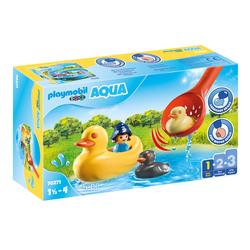 70271 - Playmobil 1.2.3 - Famille de canards et enfant
