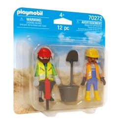 70272 - Playmobil City Action - Ouvriers de chantier