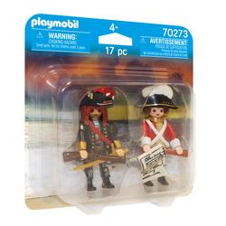 70273 - Playmobil Pirates - Capitaine pirate et soldat