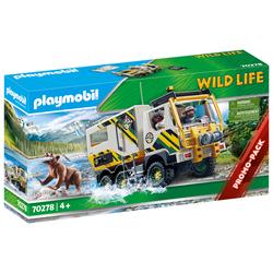 70278-Véhicule d'expédition - Playmobil wild life