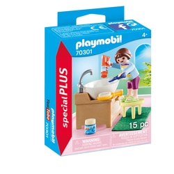 70301 - Playmobil Spécial Plus - Enfant avec lavabo