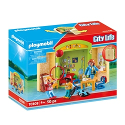 70308 - Playmobil City Life - Coffre Garderie
