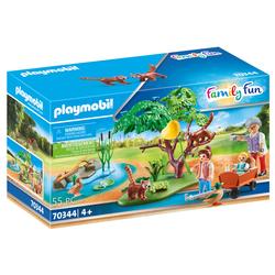 70344 - Playmobil Family Fun - Panda roux avec enfants