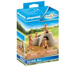 70349 - Playmobil  Family Fun - Suricates et rocher