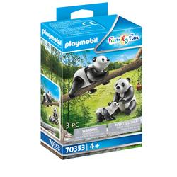 70353 - Playmobil Family Fun - Couple de pandas avec bébé