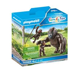70360 - Playmobil Family Fun - Gorille et ses petits