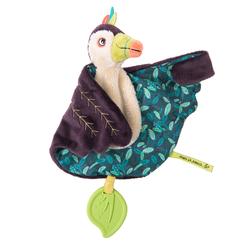 Doudou toucan Pakou dans la jungle 30 cm