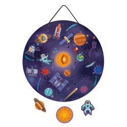 Carte magnétique Le système solaire