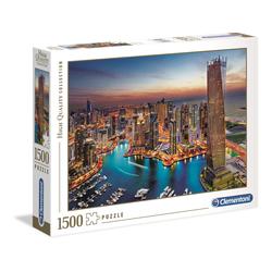 Puzzle 1500 pièces - Marina de Dubaï