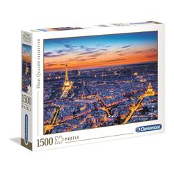 Puzzle 1500 pièces - Vue de Paris