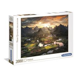 Puzzle 2000 pièces - Paysage de Chine