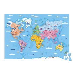 Puzzle éducatif - Les curiosités du monde 350 pièces