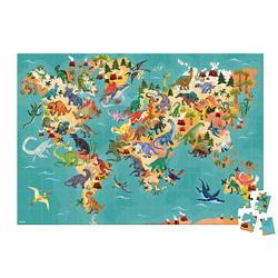 Puzzle éducatif - Le monde des Dinosaures 250 pièces