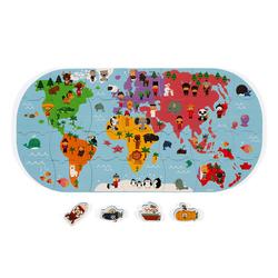 Carte des explorateurs du monde