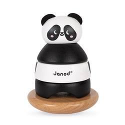Culbuto panda en bois