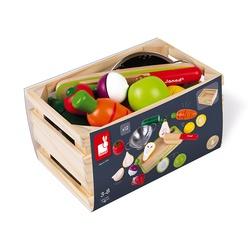 Set de fruits et légumes à découper
