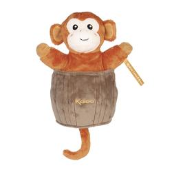 Doudou marionnette cache-cache Jacky le singe