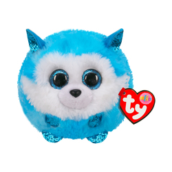 Peluche Puffies Prince le husky 9 cm