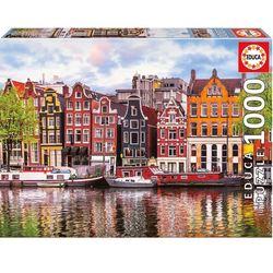 Puzzle 1000 pièces, maisons dansantes d'Amsterdam